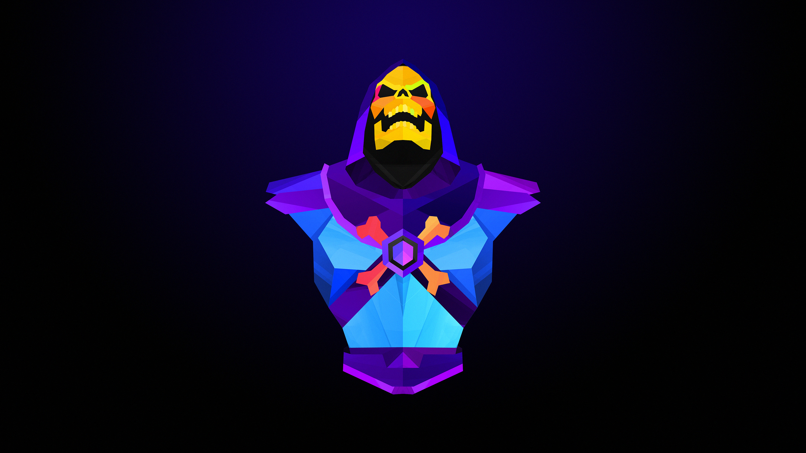 skeletor by justin maller 2560x1440 do you know more people like him please comment below